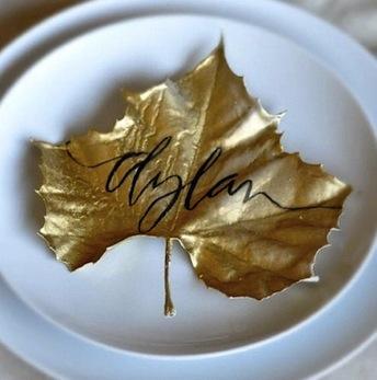 Leaf Namecards