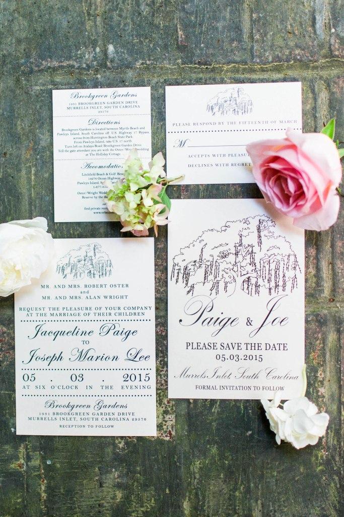 Paige & Joe, Wedding at Brookgreen Gardens, SC-14